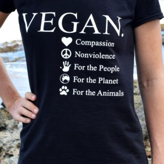 Gründe vegan zu leben T-shirt