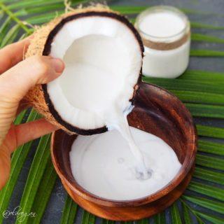 Kokosmilch selber machen einfaches Rezept