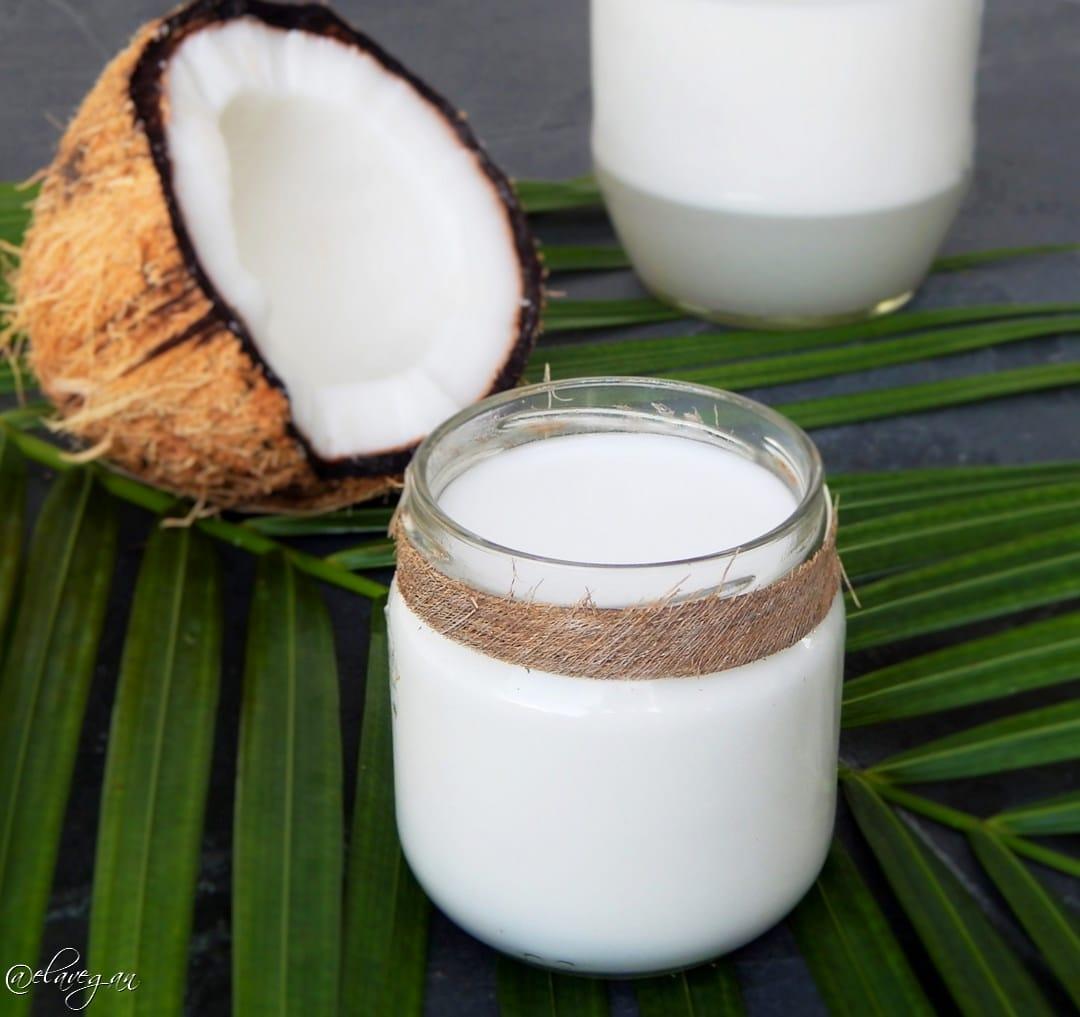 Kokosmilch selber machen Anleitung