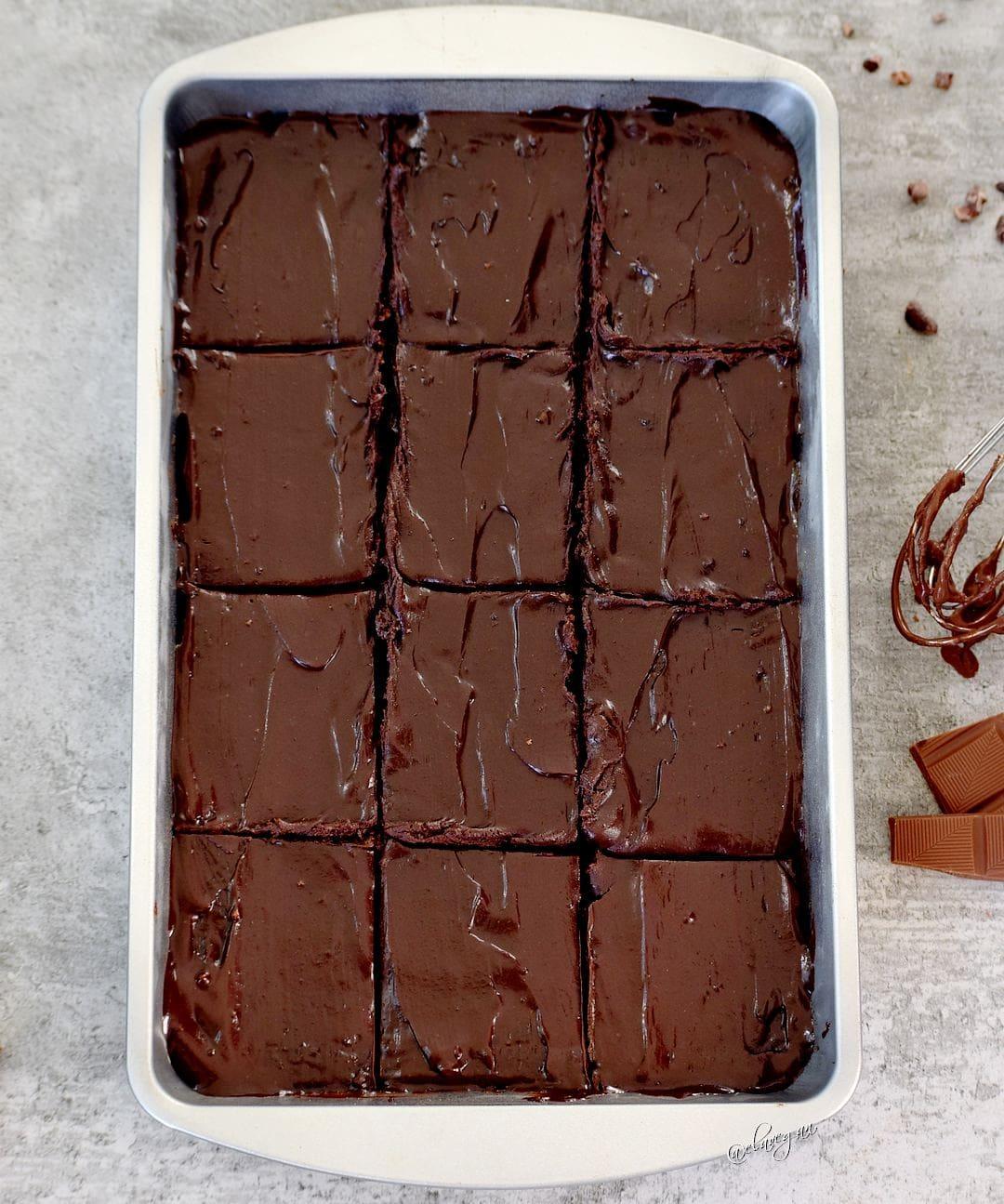 die besten brownies glutenfrei, vegan, ohne Ei, ohne schwarze Bohnen