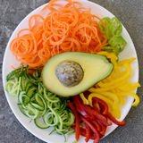 Gemüse für Sommerrollen