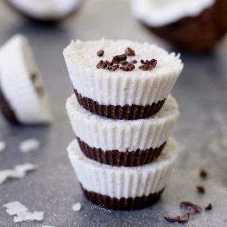 Kokos Törtchen | vegan, glutenfrei, ohne zu backen
