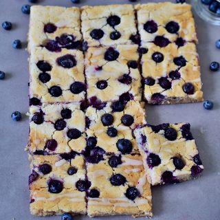 Ofenpfannkuchen mit Blaubeeren |vegan, glutenfrei, gesund