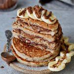 gefüllte pfannkuchen mit veganer schokoladencreme glutenfreies rezept