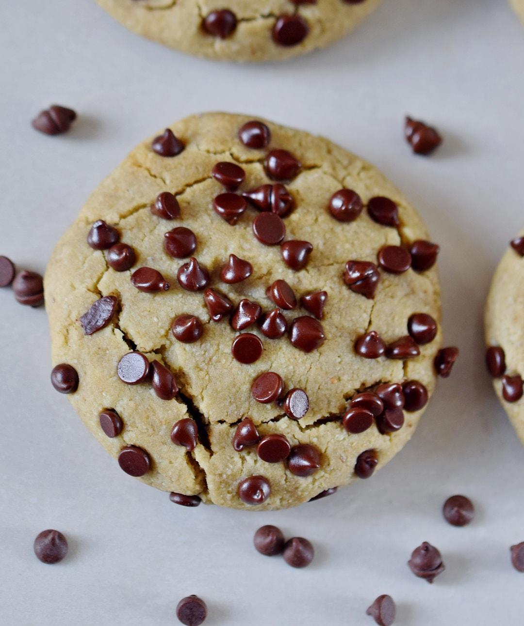 Kekse mit Schokoladenfüllung vegane Nutella glutenfrei mit Bohnen