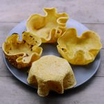 Gebackene Tortilla Schalen glutenfrei