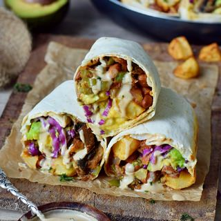 gesunde frühstücks burritos rezept vegan einfach 320x320