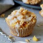 Apfel Streusel Muffins Rezept vegan glutenfrei