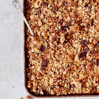 einfaches granola rezept vegan glutenfrei nussfrei