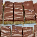 Vegane Proteinriegel mit Schokolade