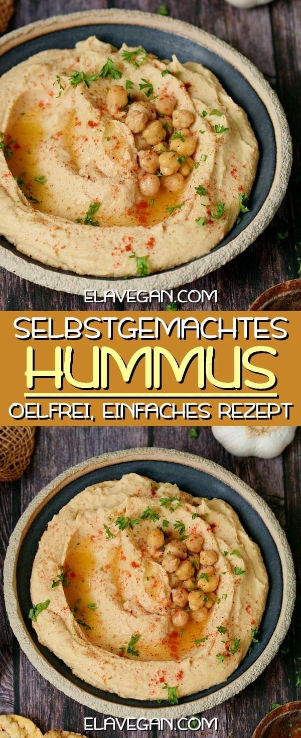 Hummus selber machen einfaches Rezept