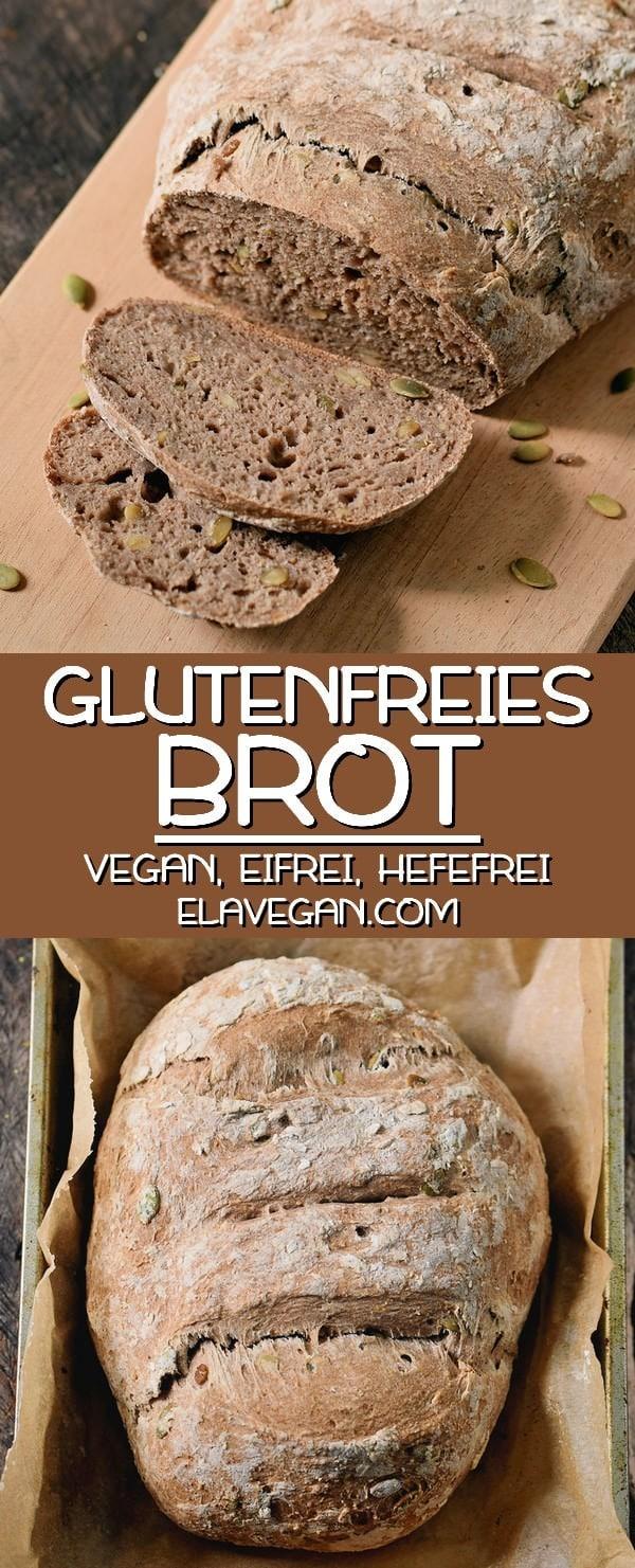 glutenfreies veganes brot hefefrei eifrei