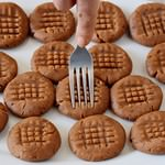 Die besten veganen Erdnussbutter Kekse