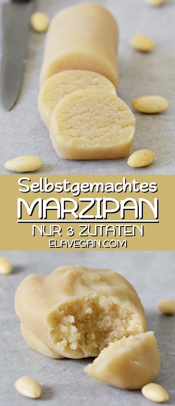Marzipan selber machen mit nur 3 Zutaten