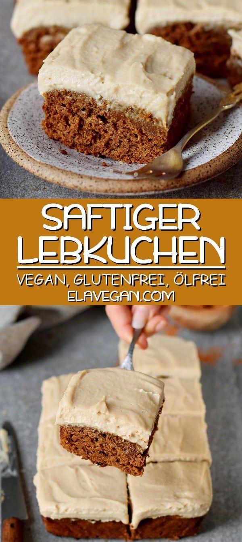 saftiger Lebkuchen vegan glutenfrei ölfrei
