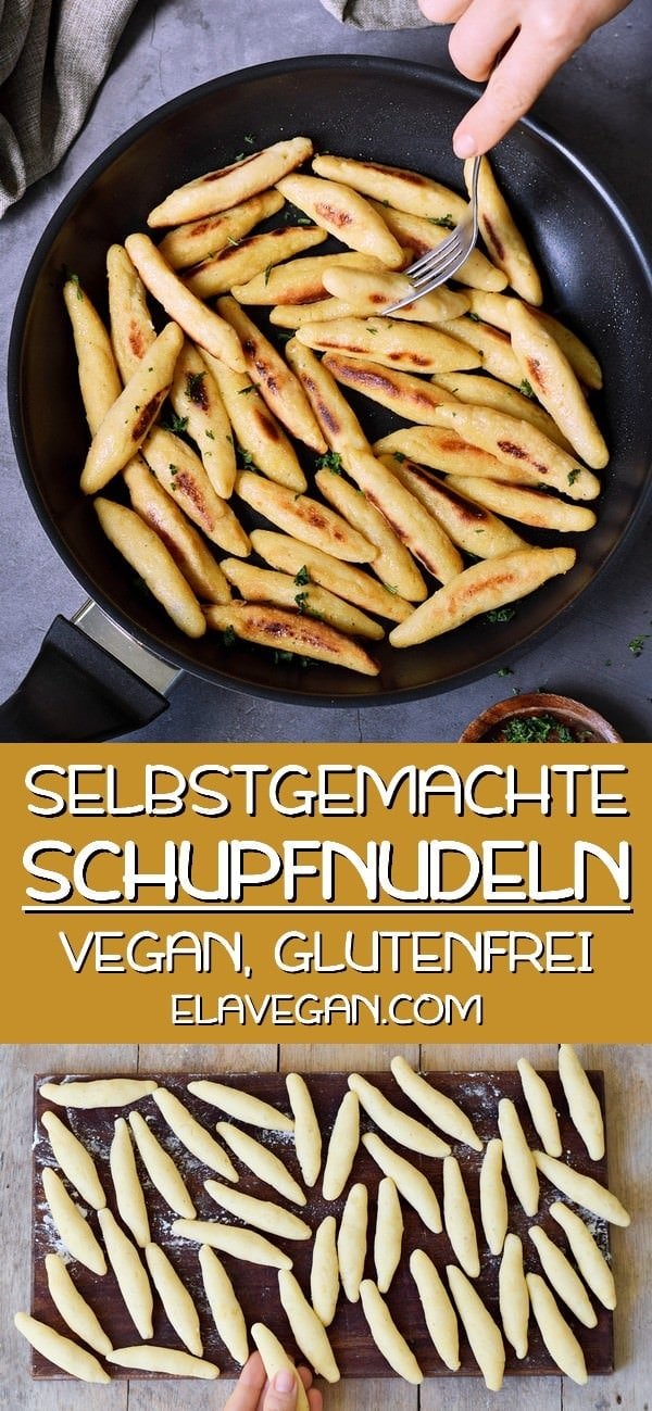 schupfnudeln selber machen vegan glutenfrei