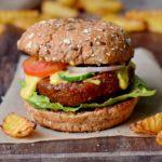 der beste Bohnenburger mit veganem Käse