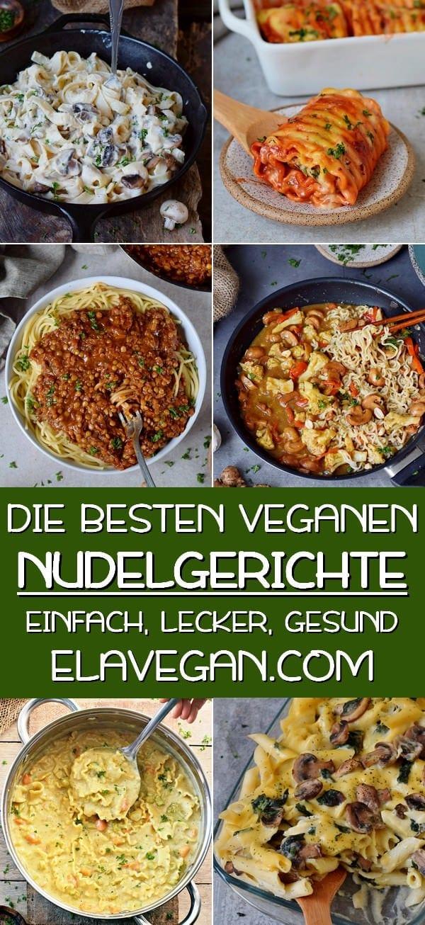 pinterest collage die besten veganen nudelgerichte