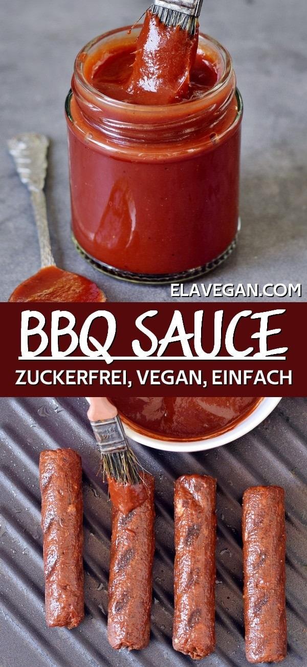 Pinterest Collage BBQ sauce Rezept