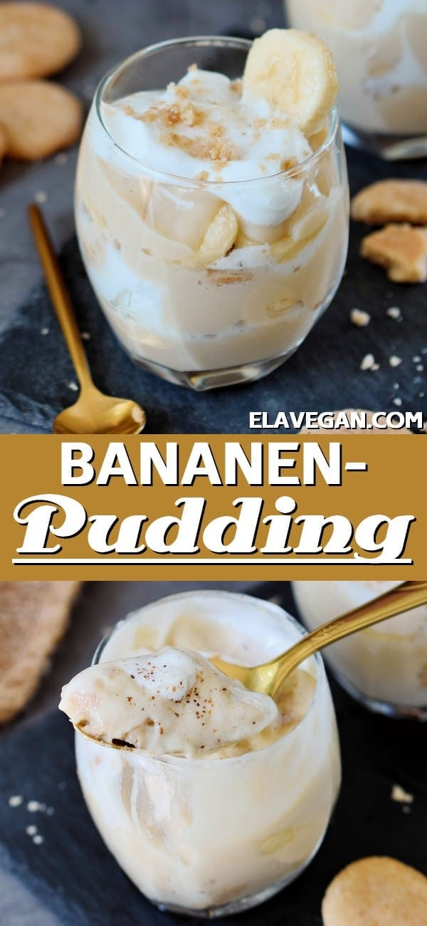 pinterest collage bananenpudding