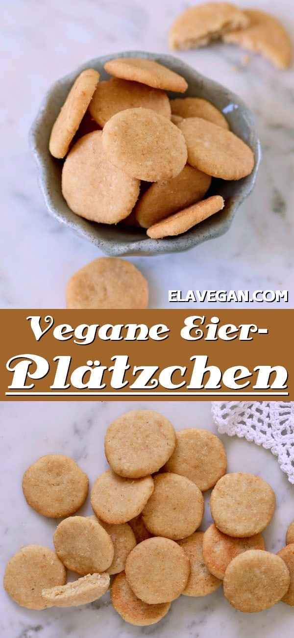 pinterest collage vegane Eierplätzchen