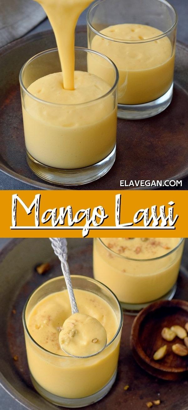 Pinterest Collage Mango Lassi