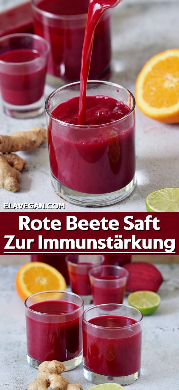 Pinterest Collage Rote Beete Saft