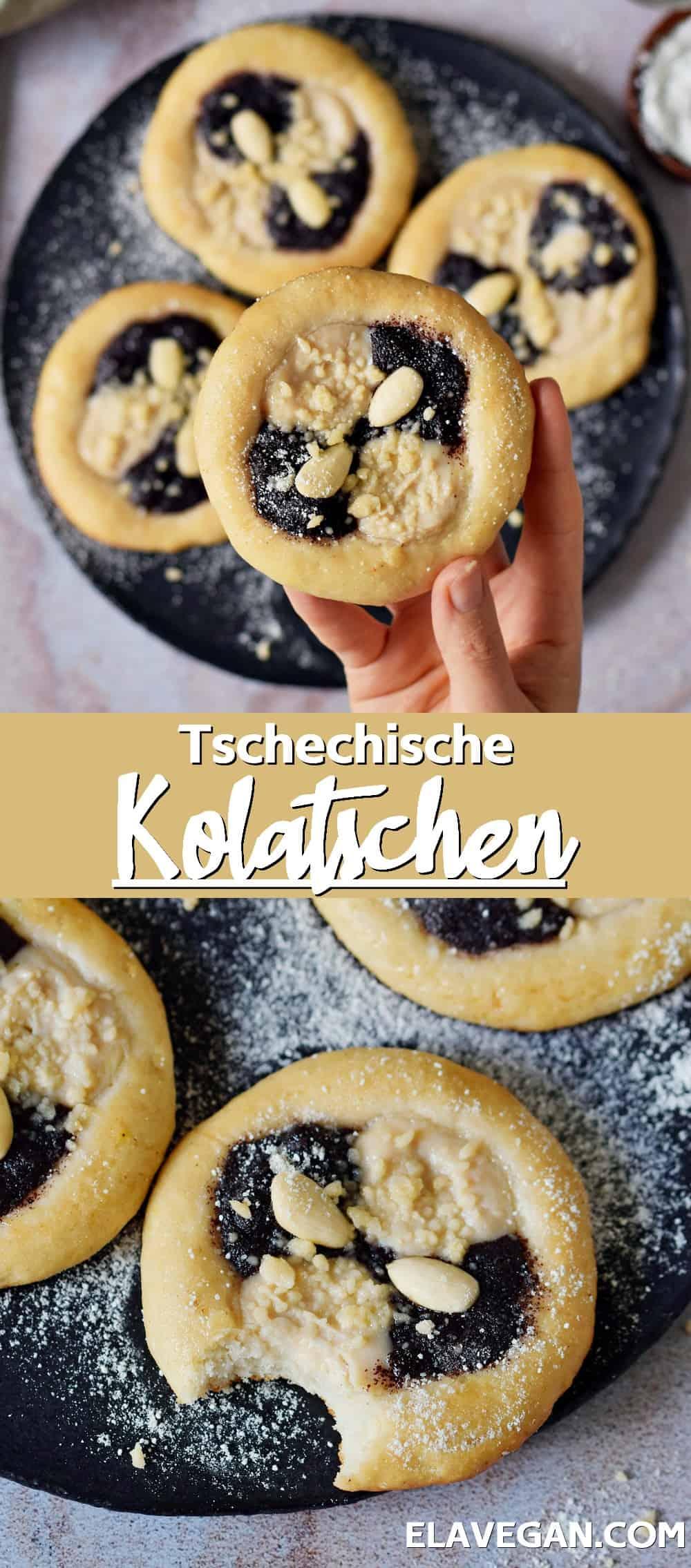 Pinterest Collage Tschechische Kolatschen