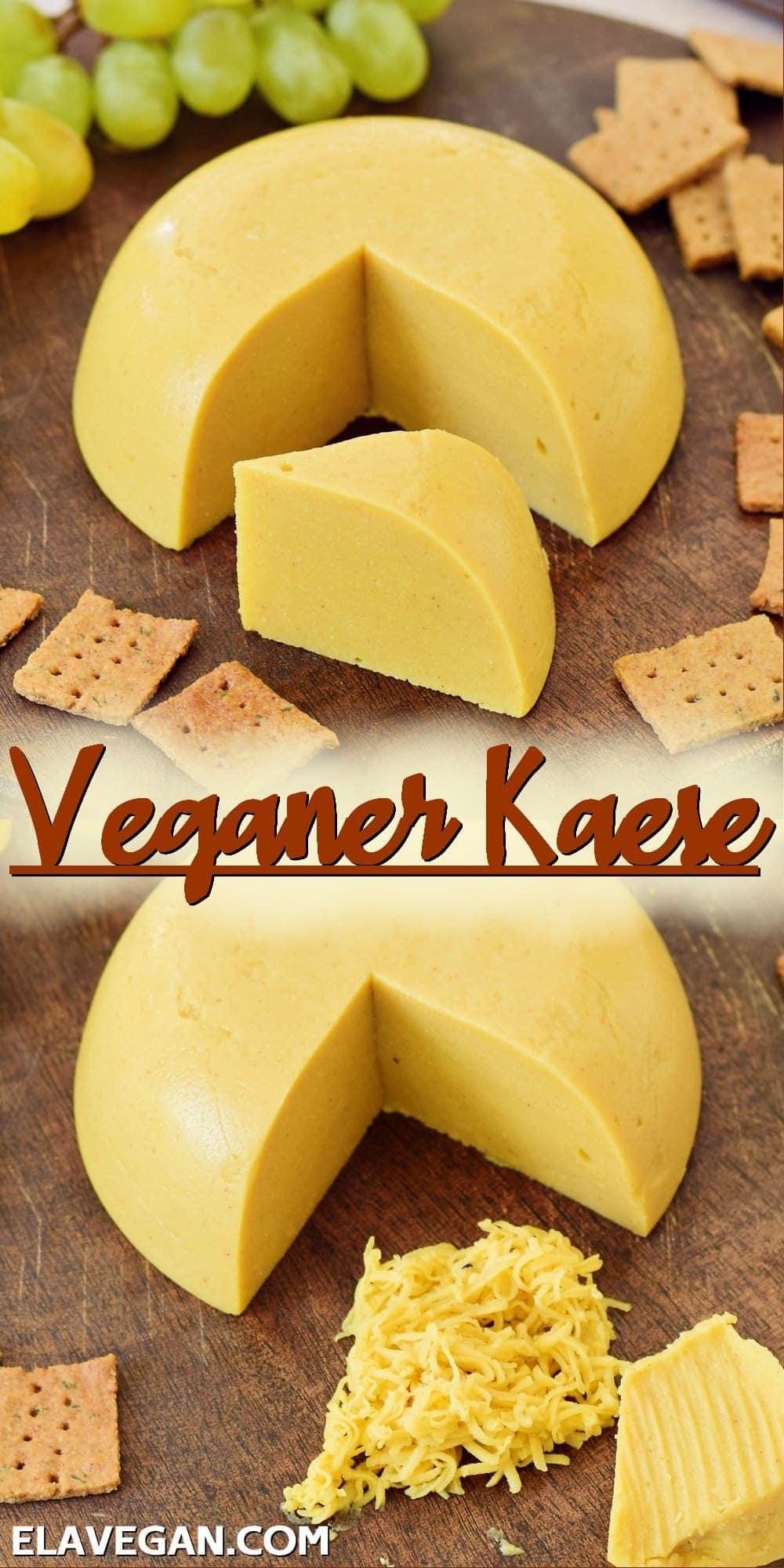 Pinterest Collage Veganer Käse