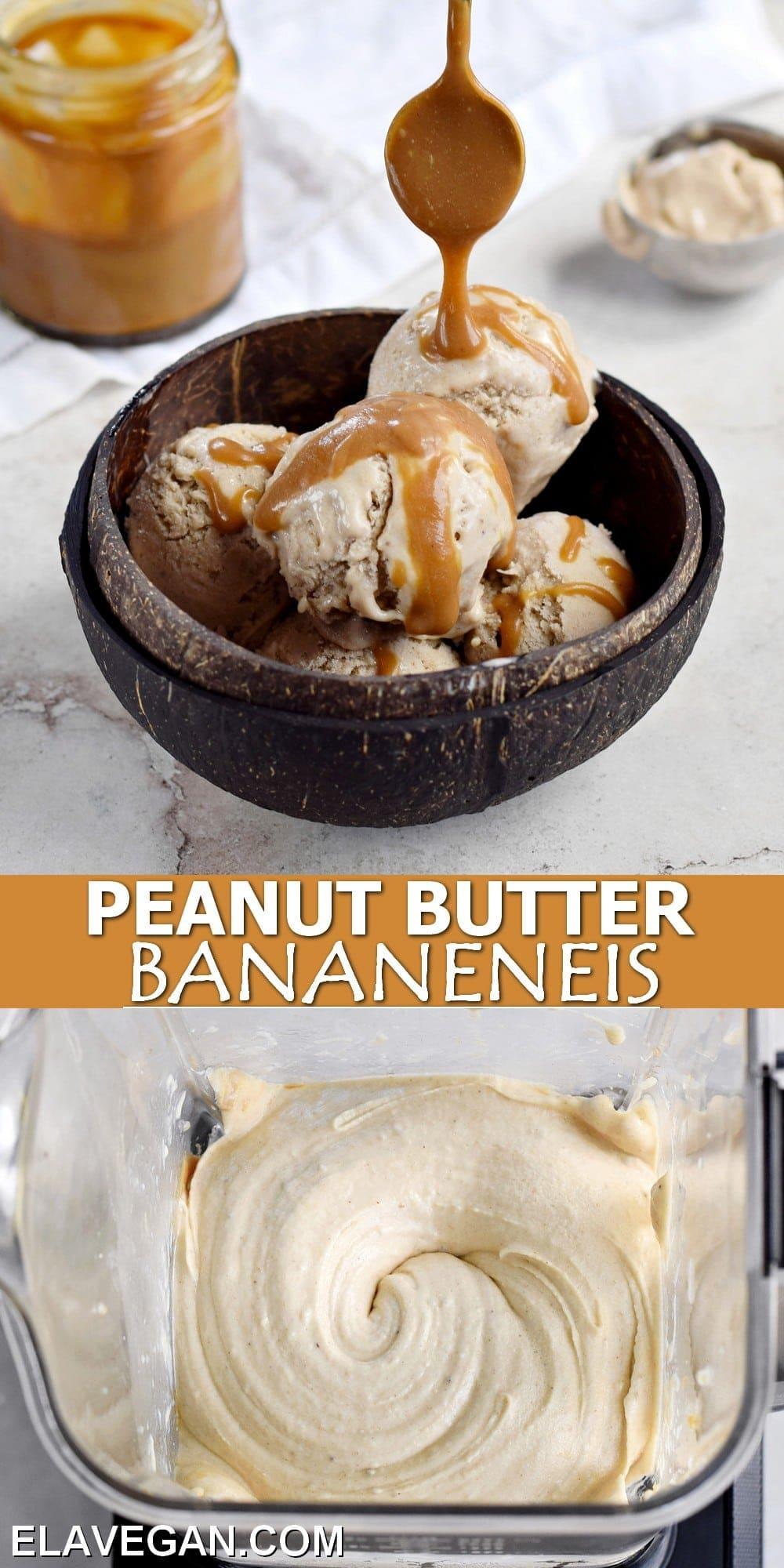 Pinterest Collage Peanut Butter Bananeneis
