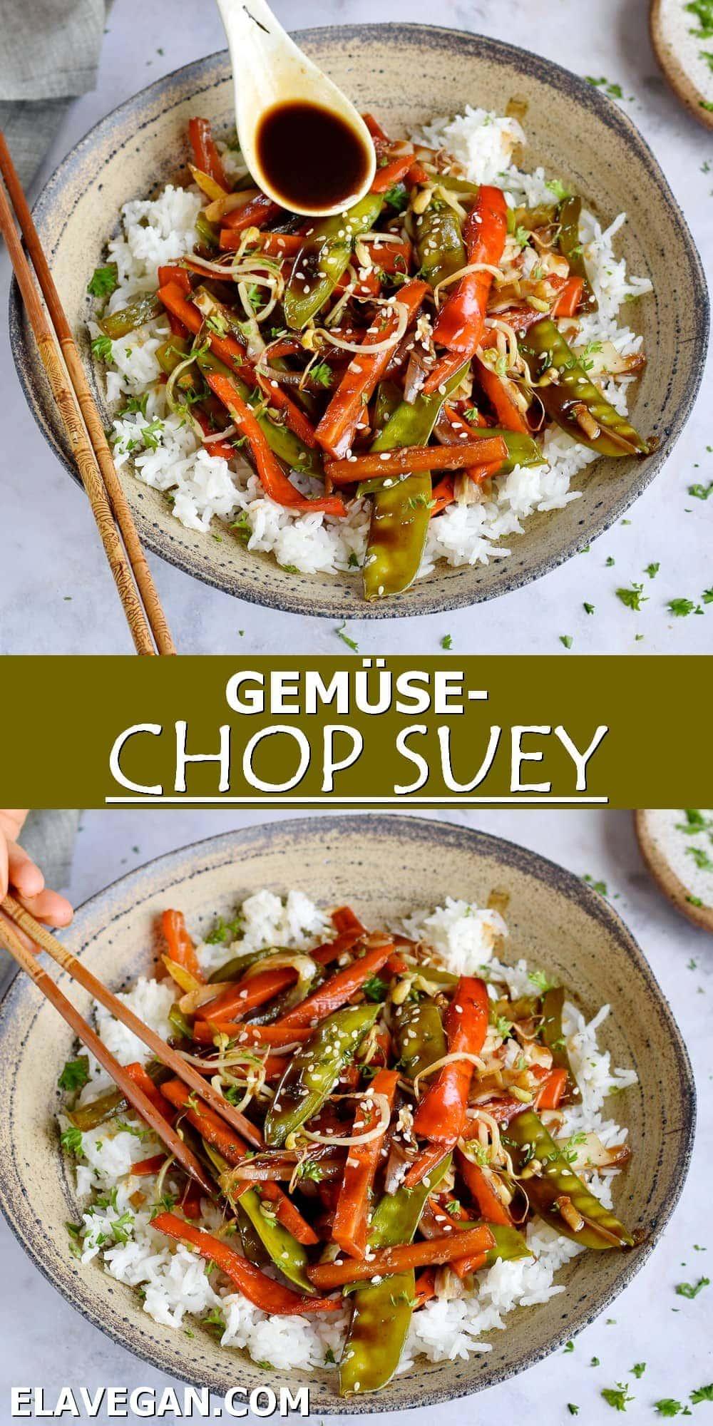 Pinterest Collage Gemüse Chop Suey
