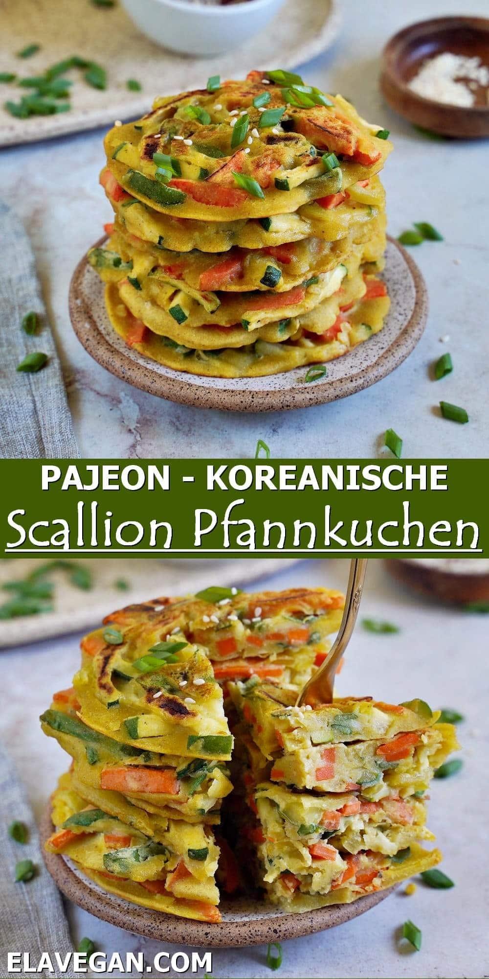 Pinterest Pajeon - Koreanische Scallion Pfannkuchen