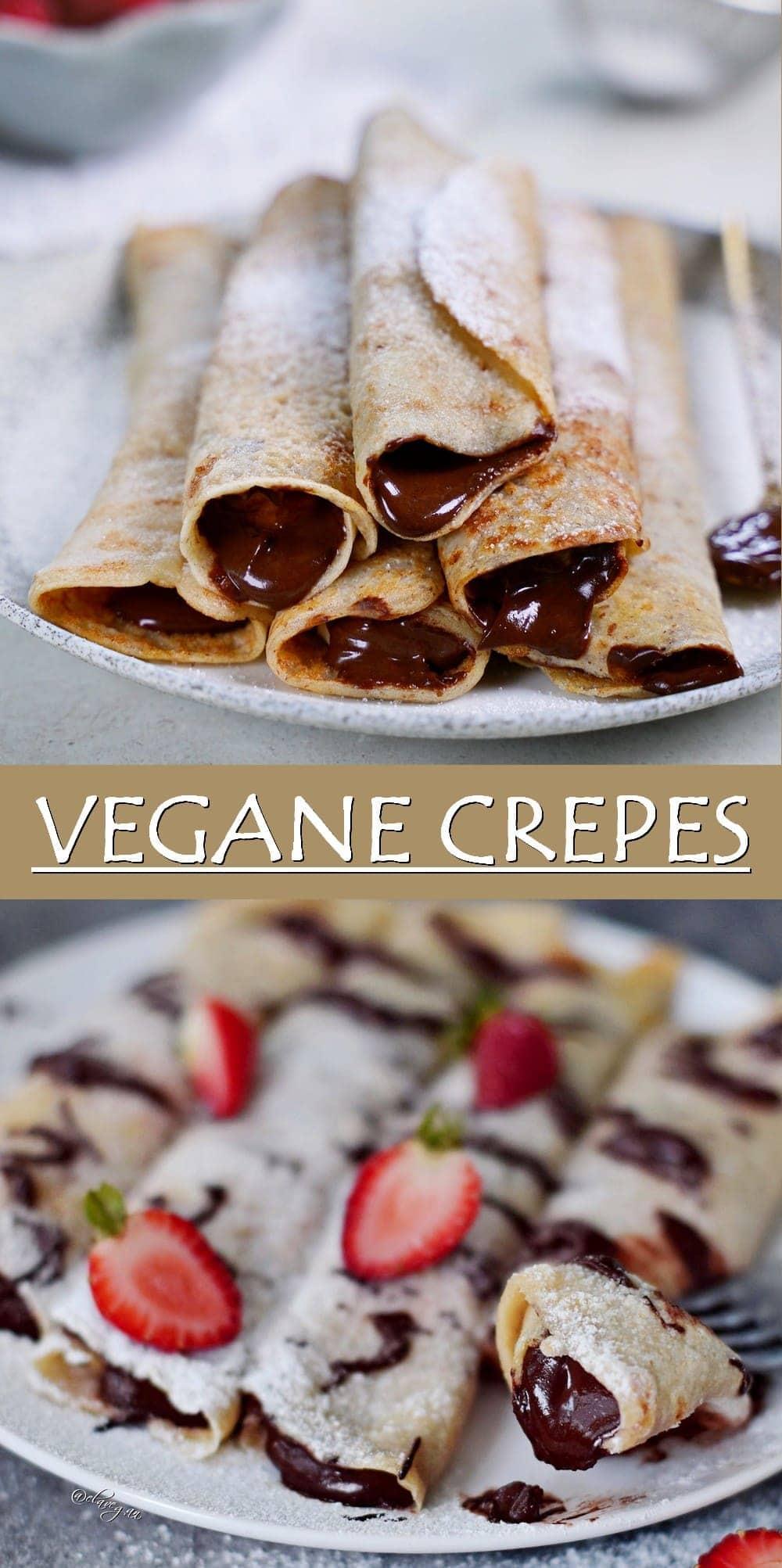 Pinterest Collage vegane Crepes