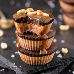 Vegan peanut butter chocolate cups