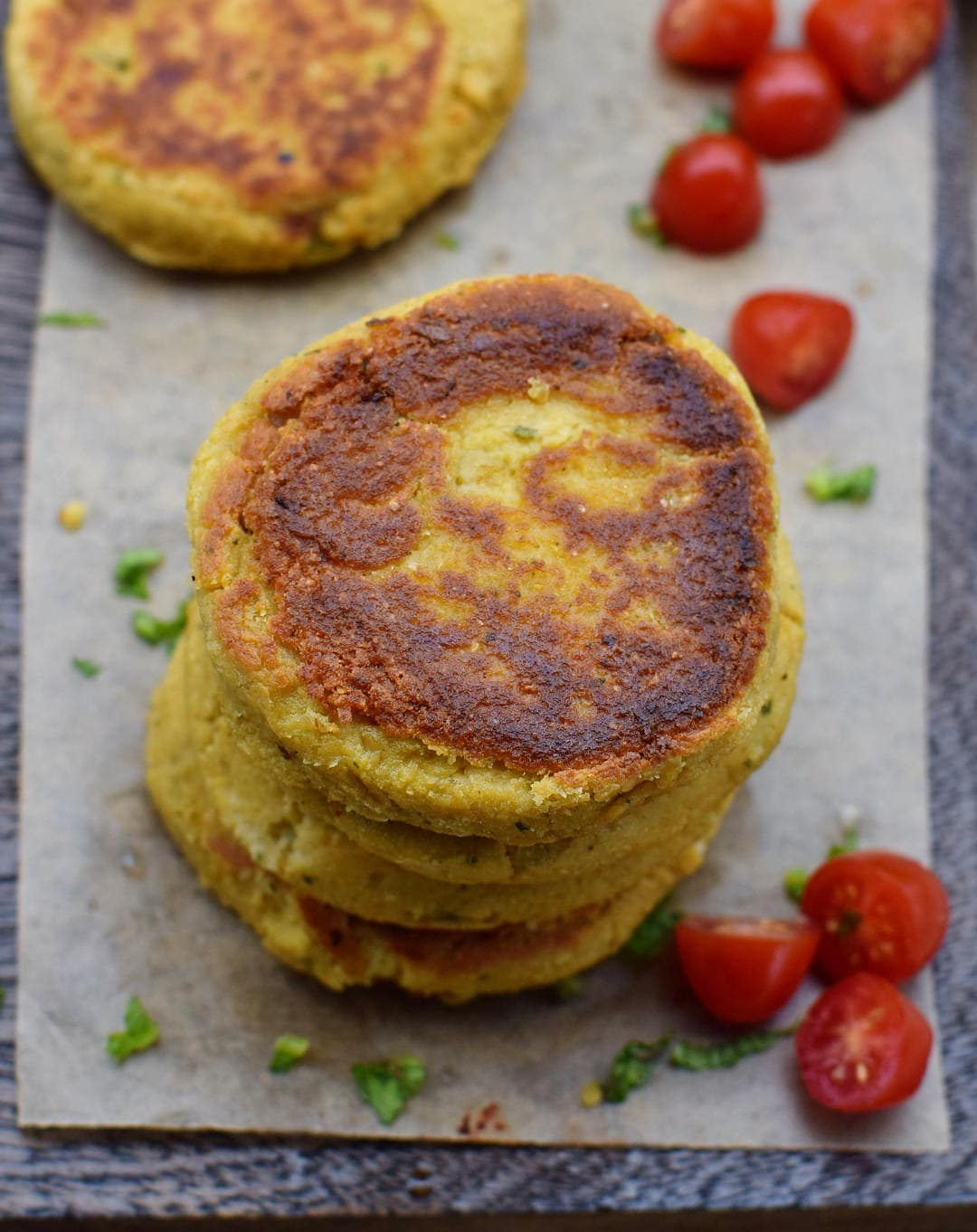 cauliflower patties recipe from above