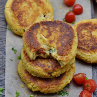 gluten-free cauliflower patties recipe