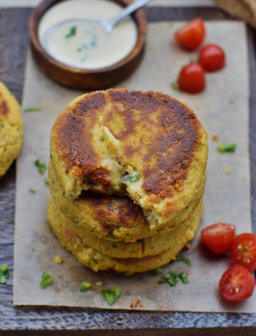 vegan cauliflower patties recipe