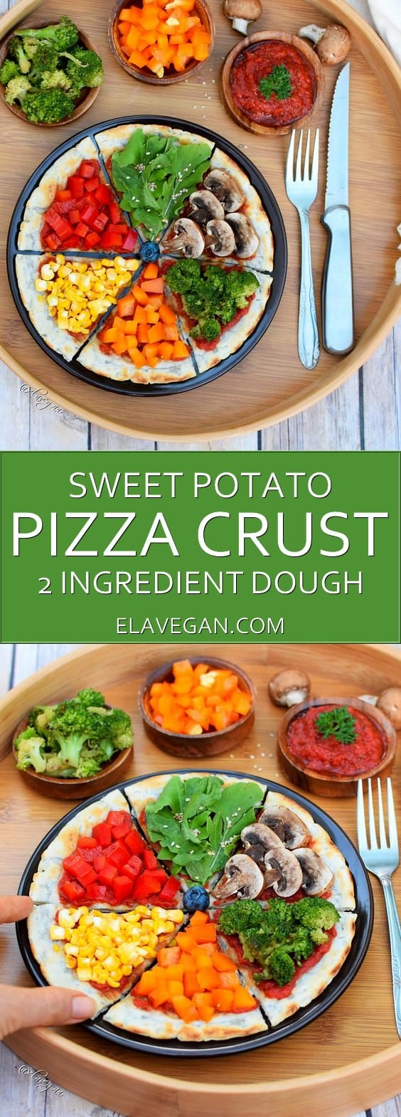 sweet potato pizza crust pinterest