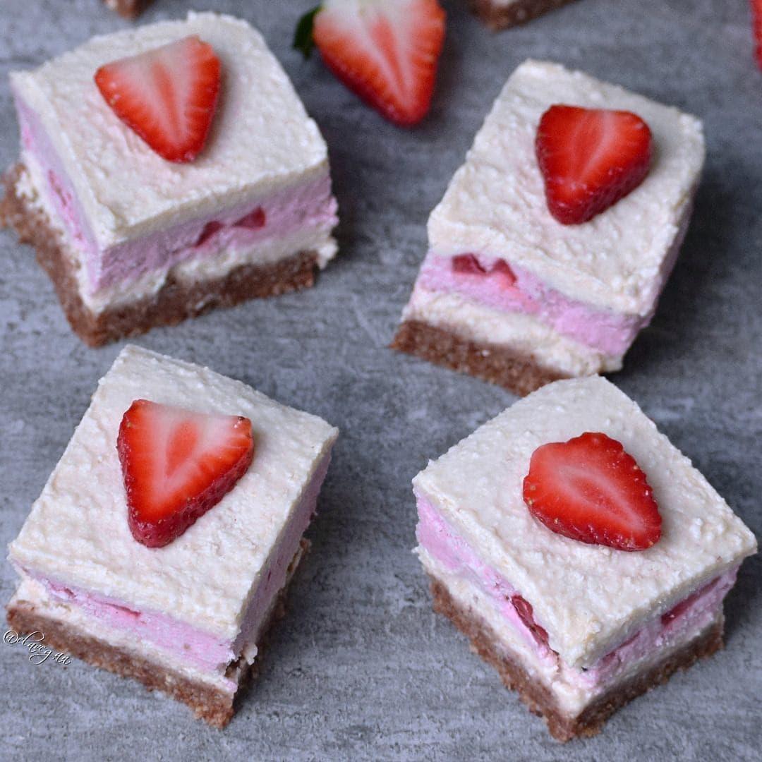 Strawberry coconut cheesecake dairy free recipe