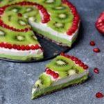 fruity cheesecake vegan pie gluten free recipe