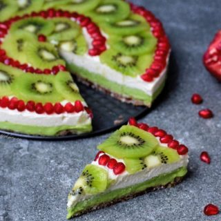 fruity cheesecake with avocado a vegan and gluten free cake