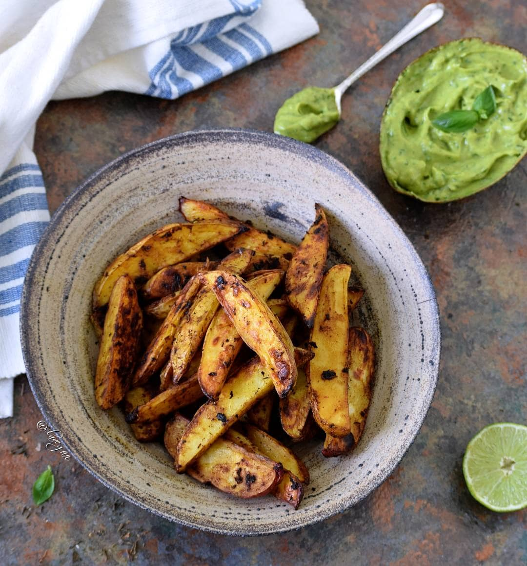 oven baked potato wedges recipe low fat fries vegan and gluten free