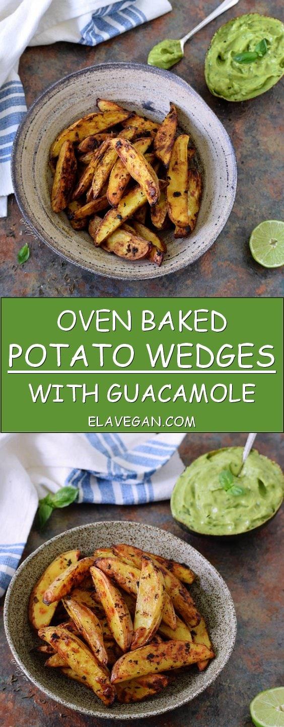 oven baked potato wedges recipe pinterest