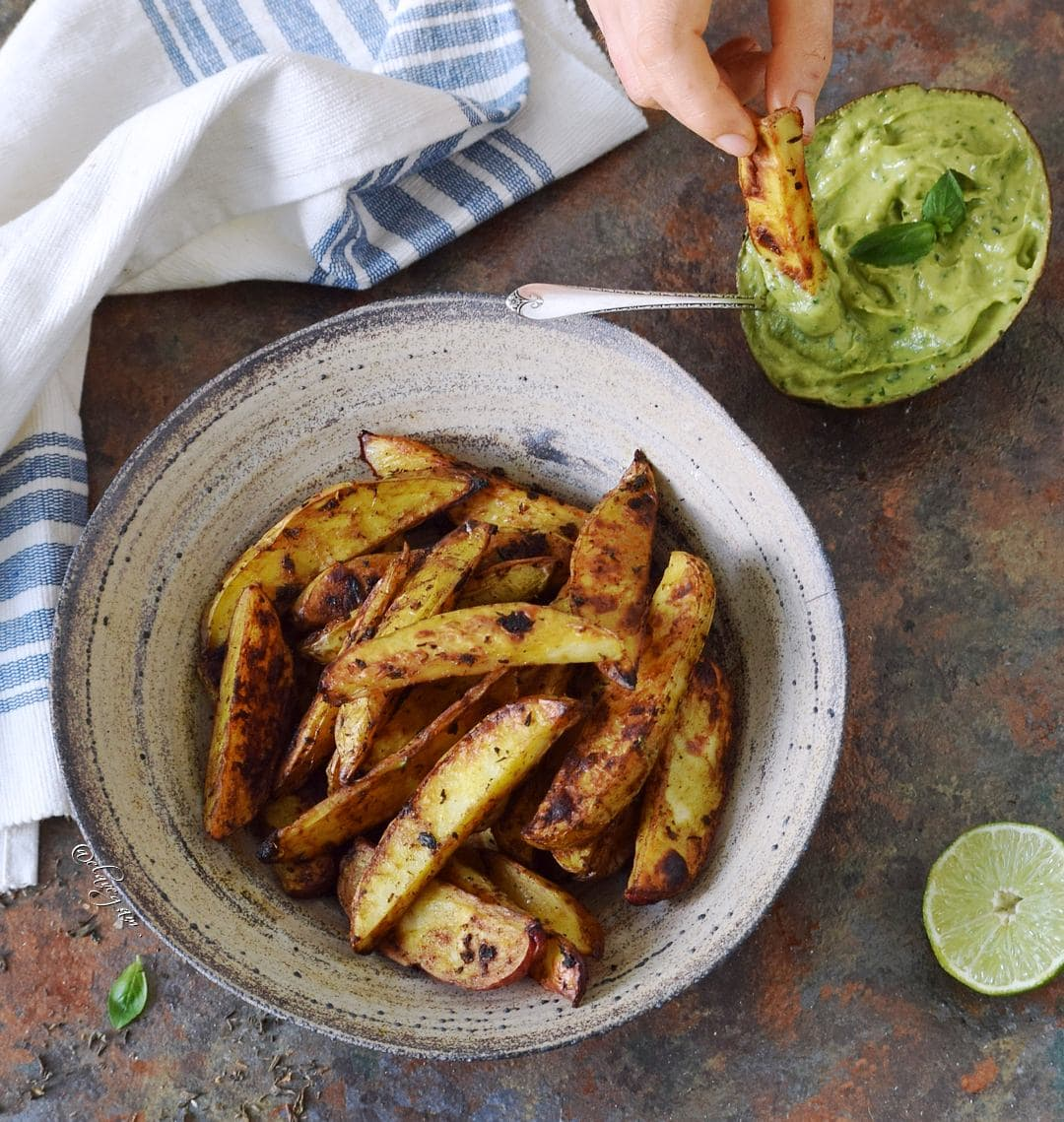 oven baked potato wedges recipe vegan and gluten free