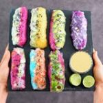 vegan summer rolls also called spring rolls or rainbow rolls gluten free recipe