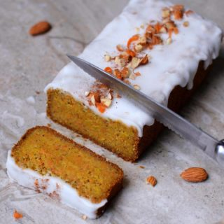 vegan gluten free carrot cake low fat recipe with a refined sugar free frosting