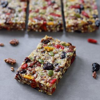 Healthy granola bars | chewy, soft, vegan and gluten free snack