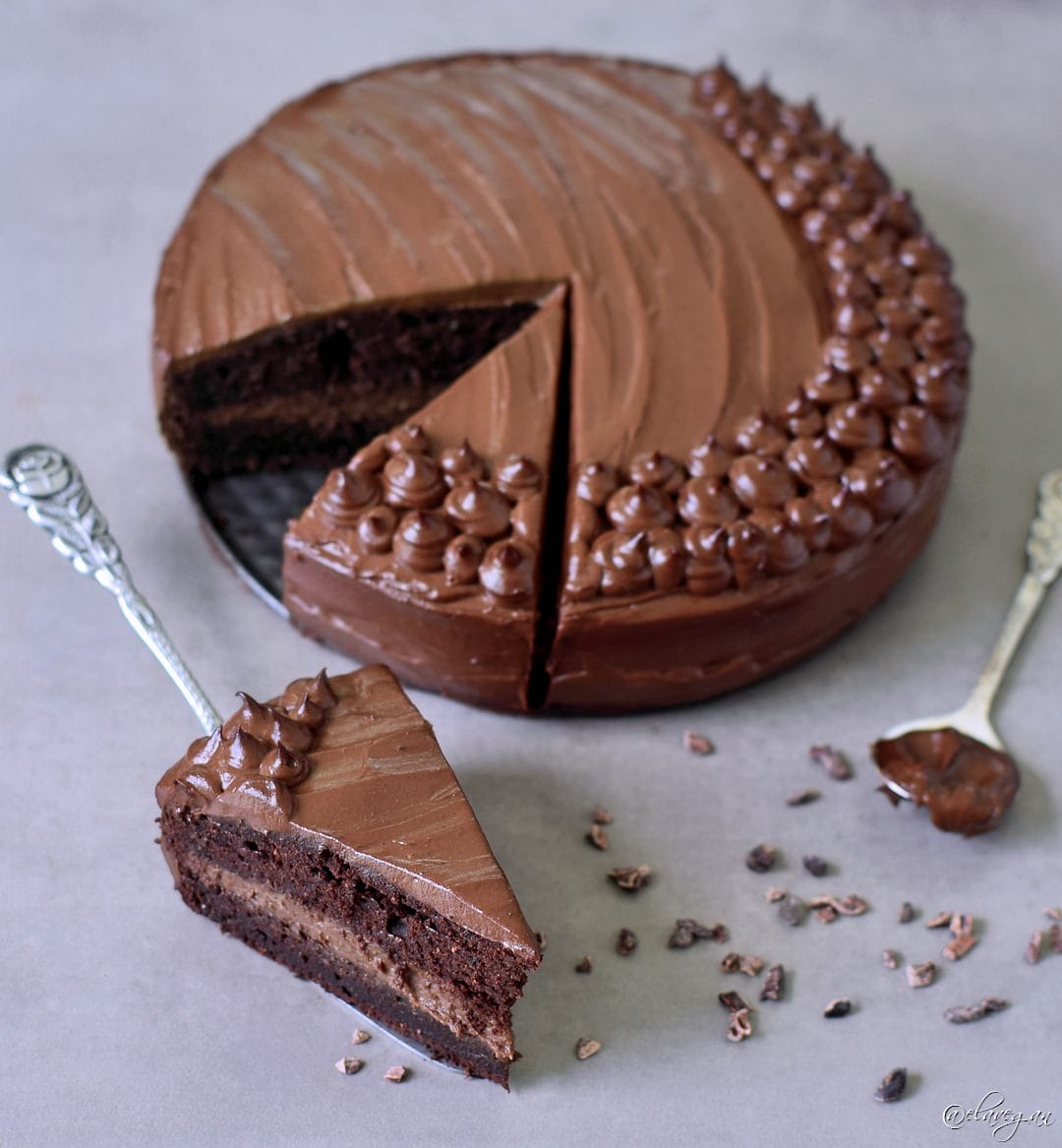 Sweet Potato Chocolate Cake Recipe