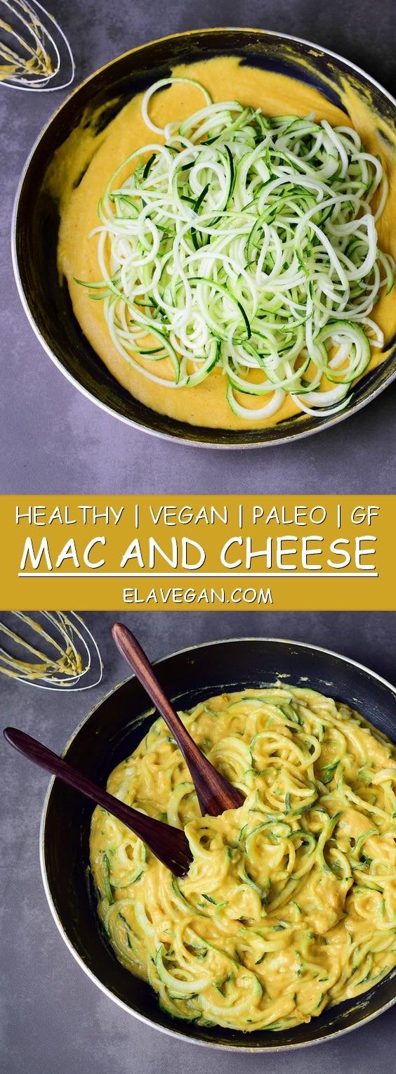 Pasta Flora Rezept healthy vegan mac and cheese gluten free paleo recipe elavegan