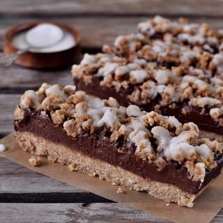 oat breakfast bars vegan refined sugar-free recipe dessert